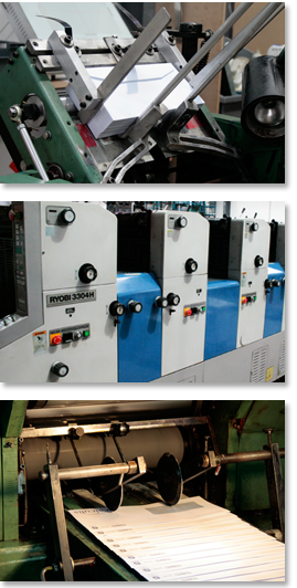 Envelope Printing Production